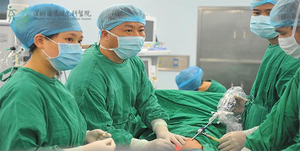 留守儿童深圳行,在远东成功治疗鞘膜积