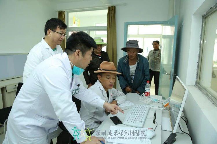 远东爱心医疗队正在热腾慈善医院进行义诊活动