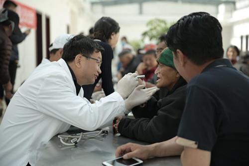 医疗公益活动,口腔疾病检查