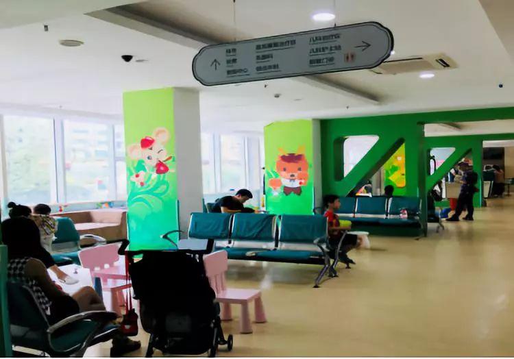 深圳远东妇产科医院候诊区