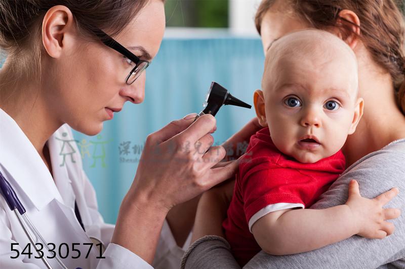 宝宝看耳朵