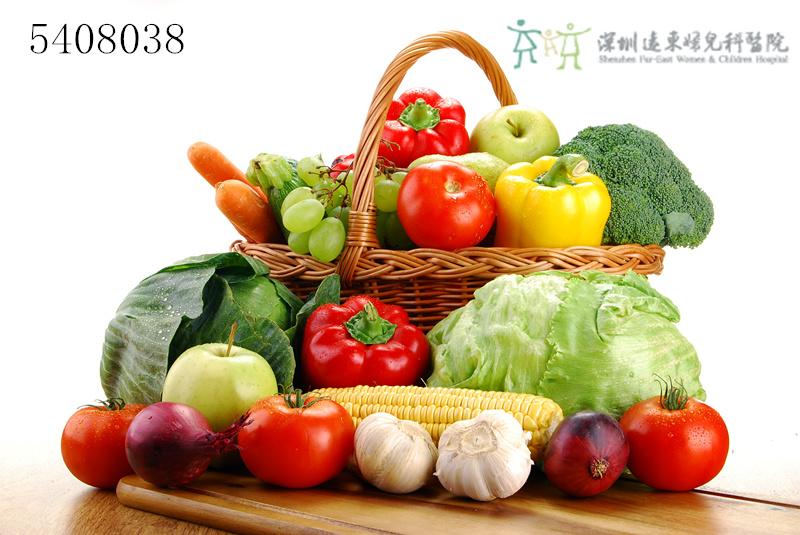 纤维,蔬菜