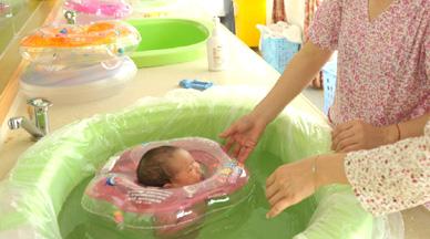 远东馨月馆婴儿游泳